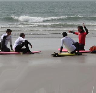 Surf lessons in Pembrokshire